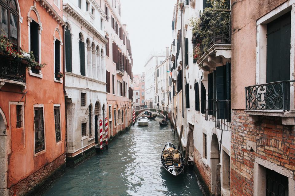 Romantische Plätze auf der Welt